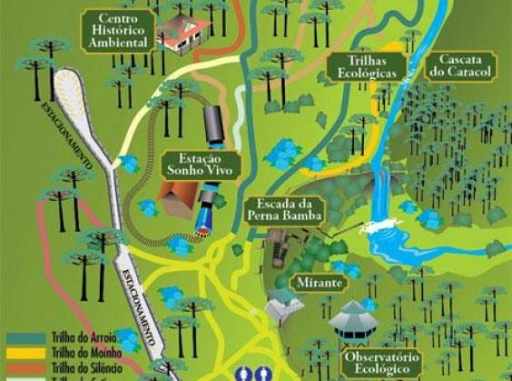 Parque Estadual do Caracol - Foto 6 de 1