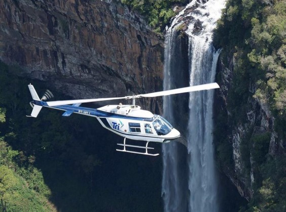 Passeio de Helicóptero (Tri Táxi Aéreo) - Foto 1 de 1
