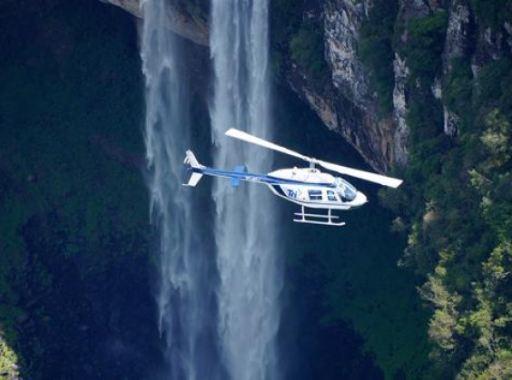 Passeio de Helicóptero (Tri Táxi Aéreo) - Foto 9 de 1