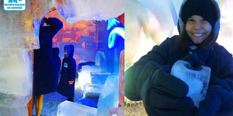 Mundo Gelado do Capitão - Parque de Gelo