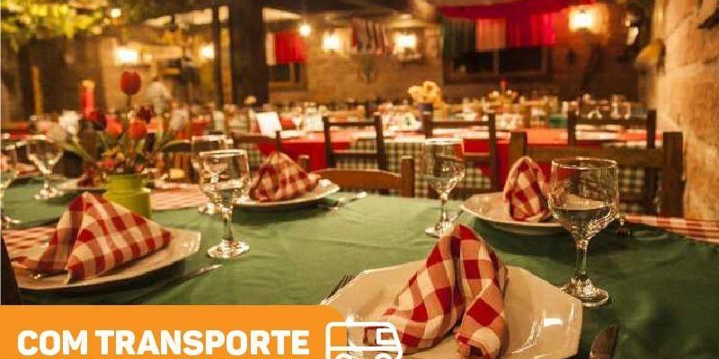 Noite Italiana (Jantar + Show + Transporte)