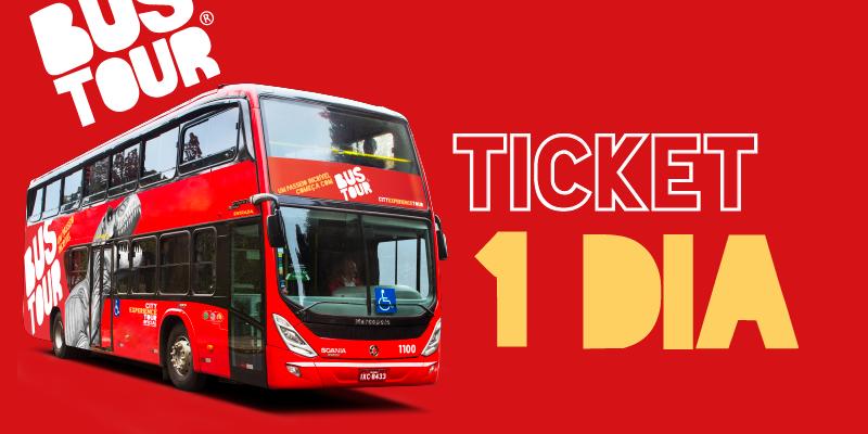Ticket Bustour - 1 dia de uso